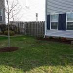 Landscaping, Woodland Drive, Chesapeake